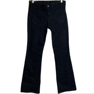 Stella McCartney Kick Flare Crop Jeans Size 28